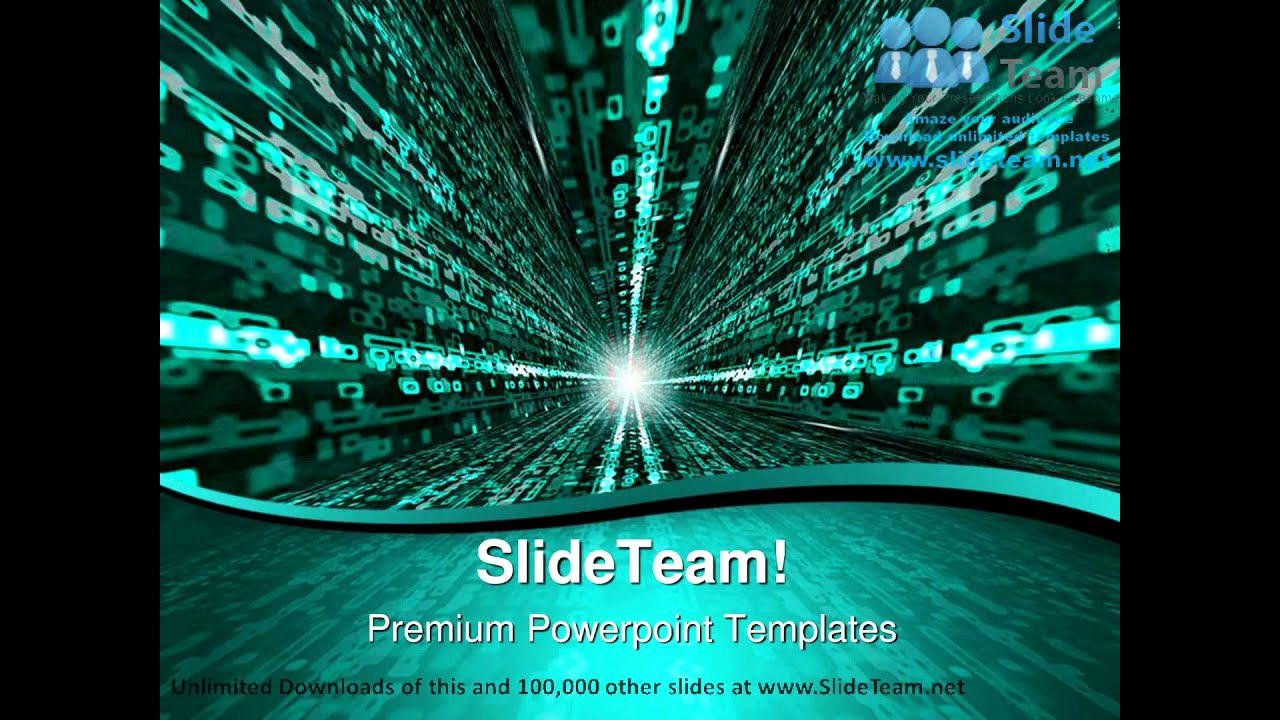 Powerpoint Backgrounds then Matrix Binary Background Powerpoint Templates themes and