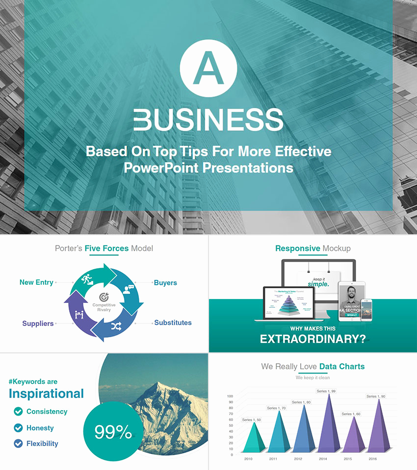 Professional Powerpoint Presentation Template or 22 Professional Powerpoint Templates for Better Business