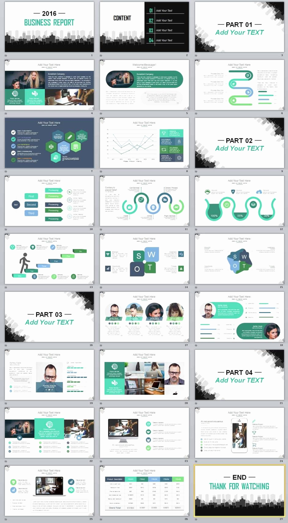 Professional Powerpoint Presentation Template or 27 Business Professional Powerpoint Templates